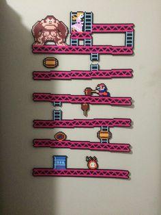 Donkey Kong by EightBitBert