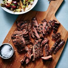 Skirt Steak with Charred-