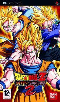 Dragon Ball Z Shin Budokai Another Road psp ppsspp psvita
