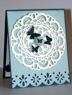 Designed by maryross: Mariposas Buterfly invitation card details and pics, beautiful wings