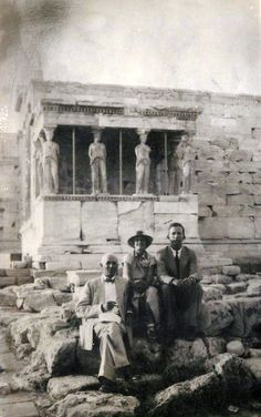 Greece Pictures, Old Pictures, Old Photos, Vintage Photos, My Athens, Athens City, Athens Greece, Elgin Marbles, Greece History
