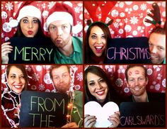 Unique Christmas Card Photo Ideas For Couples I love corny christmas cards.