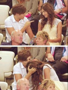Louis Tomlinson and Eleanor Calder One Direction Girlfriends, The Girlfriends, One Direction Pictures, I Love One Direction, Cutest Couple Ever, Best Couple, Louis And Eleanor, Five Guys, Eleanor Calder