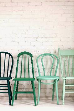 Fru Vintage: Pastellgrönt är skönt!