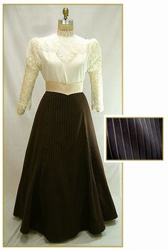 Image detail for -Victorian & Edwardian Clothing for Women & Men - 379-brown-gold ...