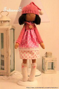 Mimin Dolls: Boneca by Tatiana S
