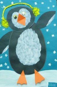 Artsonia Art Museum :: Artwork by MissCaputo1 Umění Pro Děti, Předškolní Pomůcky, Tučnáci, Sněhulák, Zima, Animales, Umělecké Projekty, Aktivity Pro Děti, Umění Ze Základní Školy
