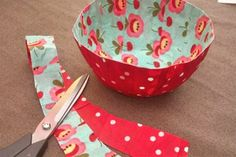Mod Podge Fabric Bowl in a Few Steps! - Mod Podge Rocks
