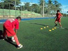 Trabalho diferênciado de fundamentos do futebol e alto rendimento de atletas de base. - YouTube