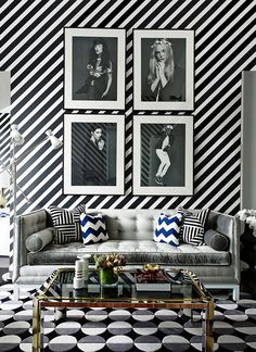 Loving the patterns and geometry in this space despite the muted tones