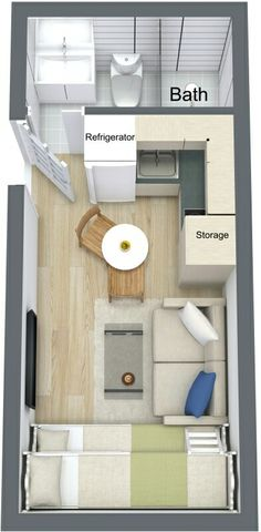 Container Floor Plan