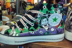 The Joker Converse I NEED THEM