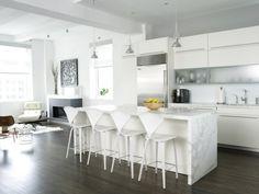 weisse küche mit marmor - Google-Suche