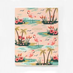 Birds of a Feather Notebook | Pink