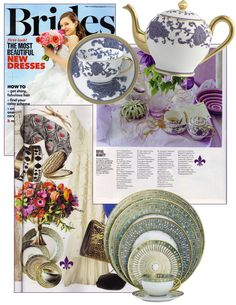 Brides July 2012 - Syracuse and Sultane  sc 1 st  Pinterest & Tableware Today: Favorite Patterns   Mottahedeh and R.Haviland \u0026 C ...