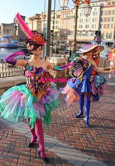 Costume Dress, Cosplay Costumes, Disneyland Parade, Ballet, Theme Park Outfits, Steampunk Pirate, Mardi Gras Parade, Female Dancers, Disney Aesthetic