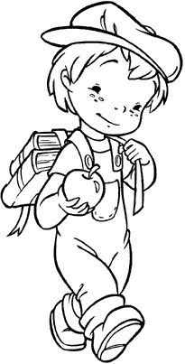Coloring Pages For Boys, Coloring Pages To Print, Coloring Book Pages, Hand Embroidery Patterns, Machine Embroidery, Embroidery Designs, Precious Moments Coloring Pages, Digi Stamps, Art Pages