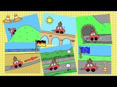 Deutsch lernen: Verb FAHREN + Präpositionen (German prepositions) - YouTube