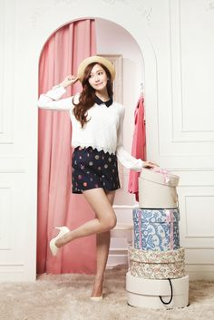 Jessica Jung SNSD Girls' Generation Soup Spring Summer 2014