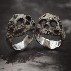 Jewelry | Jewellery | ジュエリー | Bijoux | Gioielli | Joyas | Art | Arte | Création Artistique | Artisan | Precious Metals | Jewels | Settings | Textures | - cool mens jewelry, mens cool jewelry, unique mens jewelry