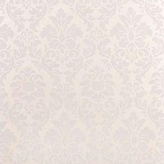 papel de parede floral branco - Leroy Merlin