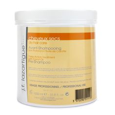 J. F. Lazartigue Deep Action Treatment With Carrot Oil - For Dry Hair (Salon Size) 1000ml/33.8oz - http://www.scents.joystin.com/2012/12/29/j-f-lazartigue-deep-action-treatment-with-carrot-oil-for-dry-hair-salon-size-1000ml33-8oz/
