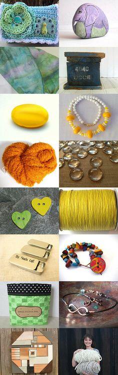 Love Handmade! SKIRT Scavenger Hunt