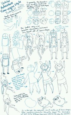 Adventure Time drawing demo