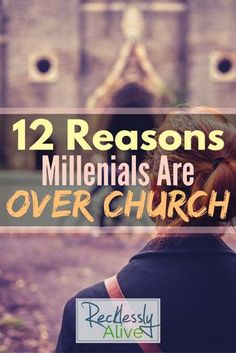 12 Reasons Millennials are OVER Church - Recklessly Alive Millennials are over the church and what to do about it. Church Ministry, Youth Ministry, Ministry Ideas, Church Welcome Center, Christian Podcasts, Young Adult Ministry, Church Outreach, Church Activities, Bible Activities