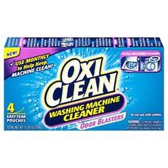 oxiclean washing machine cleaner, odor blasters washing machine pouches, cleaning product