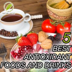 5 Best Antioxidant Foods and Drinks. Talk about superfoods and the first thing that comes to mind is antioxidants- its true- antioxidants are the best substances you could get; they protect you from different diseases, slow down ageing and give you an immune system boost.  If you're looking to add some good foods to your diet that give you an antioxidant boost, look no further- here we've put down the best foods and drinks that contain powerful antioxidants. Read on… Top 5 Antioxidant Foods