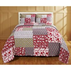 Laney 3-piece Quilt Set | Overstock™ Shopping - Great Deals on Quilts