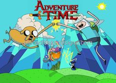 1/4 Sheet ~ Adventure Time Birthday ~ Edible Image Cake/Cupcake Topper!!! -- New offers awaiting you  : Baking decorations