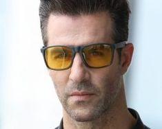 Štýlové polarizované okuliare pre šoféra na noc a do hmly Mirrored Sunglasses, Mens Sunglasses, Wayfarer, Style, Fashion, Swag, Moda, Fashion Styles, Men's Sunglasses