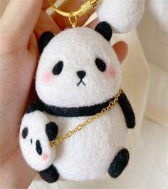 Panda Felting Kit Needle Felting Kit Panda Felting Kits | Etsy All You Need Is, Beginner Felting, Needle Felting Kits, Cute Panda, Starter Kit, Urdu Poetry, Wool Felt, Romantic, Make It Yourself