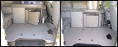 At Pop Top Heaven, you can find quality VW Eurovan and Airstream Interstate Campers. Our used Camper Vans are in great condition, thoroughly cleaned, restored, and road ready! Eurovan Camper, Used Camper Vans, Airstream Interstate, Airstream Campers, Restoration, Heaven, Pop, Interior, Furniture