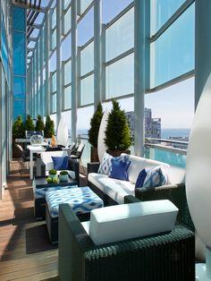 Molins Interiors // terraza - ático - salón exterior - mobiliario exterior