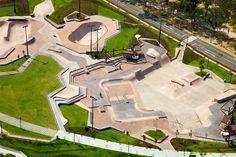 Convic - Singapore Park Landscape, Mountain Landscape, Urban Landscape, Landscape Design, Stadium Architecture, Landscape Architecture, Architecture Design, Backyard Skatepark, Hotel New York