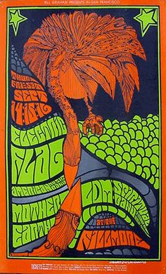Jim Blashfield, Electric Flag Mother Earth at the Fillmore, 1967