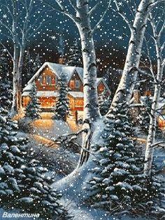 Зима, обожаю...