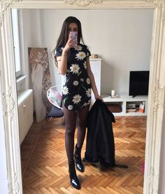 """My heart did a little """"!"""" when I saw this dress from 🐉 search for style: Outfits For Teens, Cool Outfits, Casual Outfits, Fashion Outfits, Womens Fashion, Effortlessly Chic Outfits, Pinterest Fashion, Thrift Fashion, Types Of Fashion Styles"""