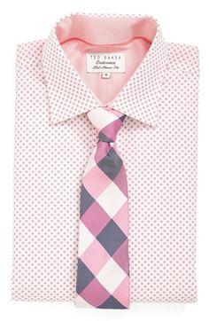LOVE the plaid tie!