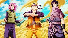 Naruto Sasuke Sakura Team 7 As One of my favorite anime show Sasuke Uchiha, Anime Naruto, Naruto Shippuden Hd, Naruto Shippuden Figuren, Naruto Shippuden Characters, Naruto Art, Boruto, Naruhina, Naruto Team 7