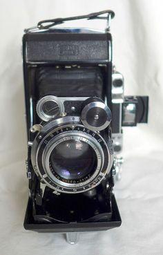 Zeiss Super Ikonta C - 531/2 vintage 6x9 rangefinder camera #ZeissIkon