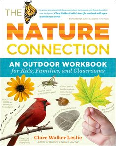 Free 'Nature Connection' downloads from the book.  Great for nature journals