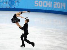 Sochi 2014 Day 3 - Figure Skating Team Ice Dance Free Dance - Photo - Sochi 2014 Olympics. Elena Ilinykh & Nikita Katsalapov - Russia