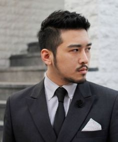 Pictures of Short Haircuts For Asian Men