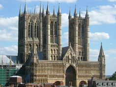 Catedral de Lincoln, Inglaterra. S. XII-XIII. Early gothic.