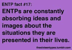 Myers-Briggs 16 personality types - ENTP