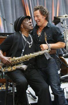 Clarence Clemons & Bruce Springsteen